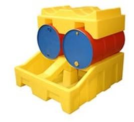 Poly Bunded Drum Rack System Spill Pallet Safety