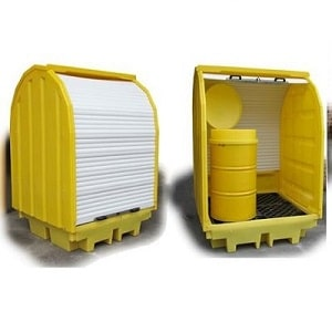 Romold Covered Poly Spill Containment Pallets